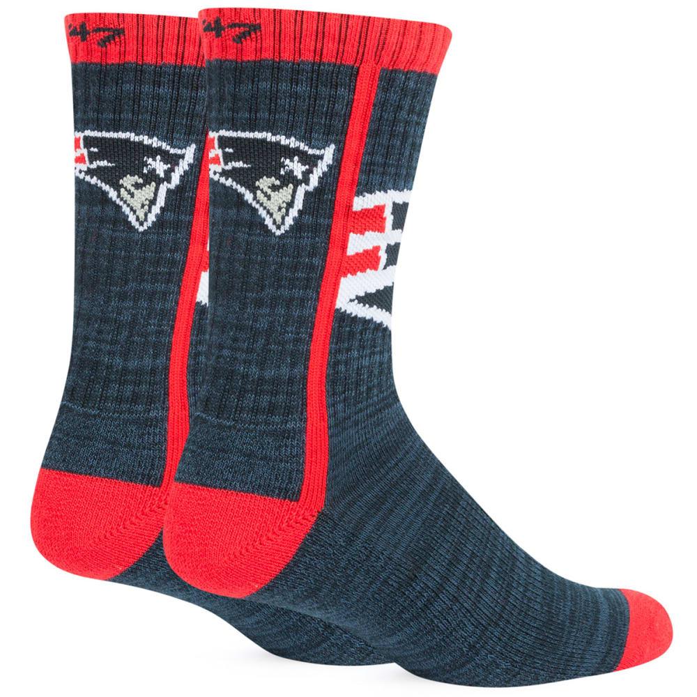 NEW ENGLAND PATRIOTS Hot Box Socks - NAVY