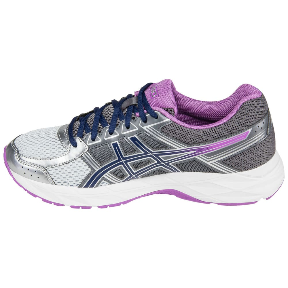ASICS Women's GEL-Contend 4 Running Shoes, Carbon, Wide - GREY