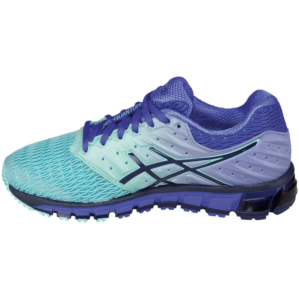 ASICS Women's GEL-Quantum 180 2 Running Shoes, Aruba Blue - BLUE 44