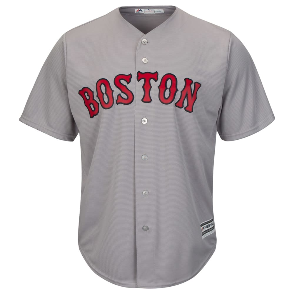BOSTON RED SOX Men's Cool Base Jersey - GREY