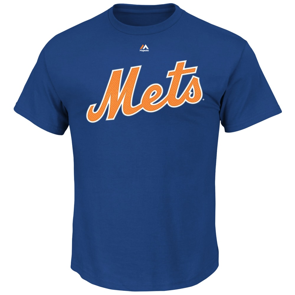 NEW YORK METS Men's Yoenis Cespedes Official Name and Number Tee - ROYAL BLUE