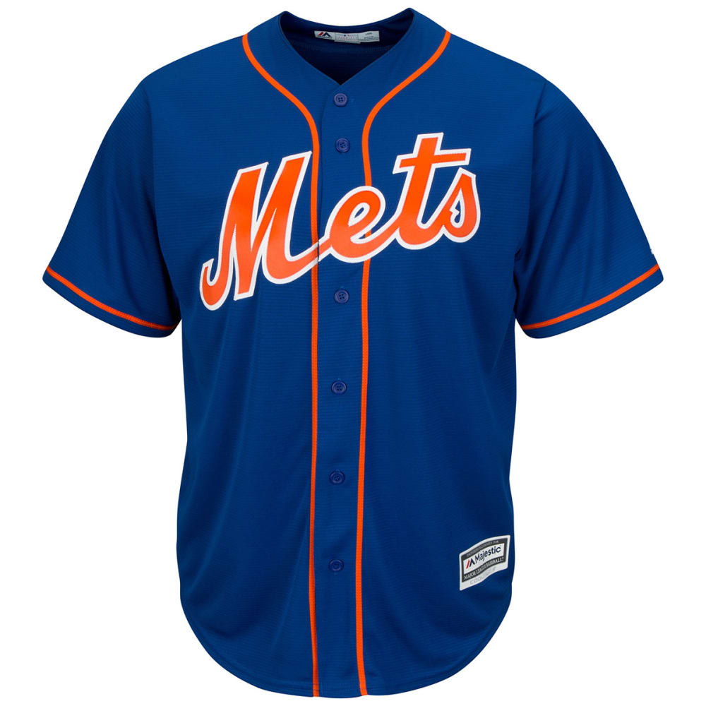 NEW YORK METS Men's Cool Base Jersey - ROYAL BLUE