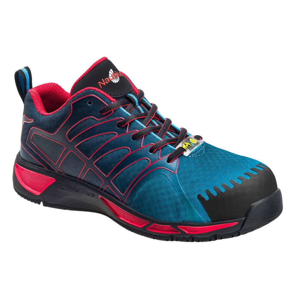 NAUTILUS Men's Comp Carbon Toe  Athletic Work Shoes, Medium Width - BLUE