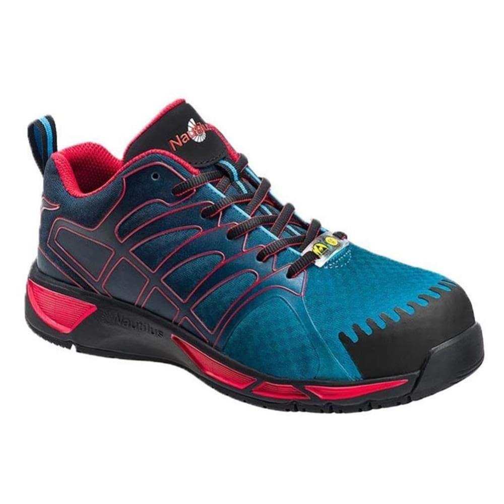 NAUTILUS  Composite Carbon Toe 2423 Athletic Work Shoe, Wide - BLUE