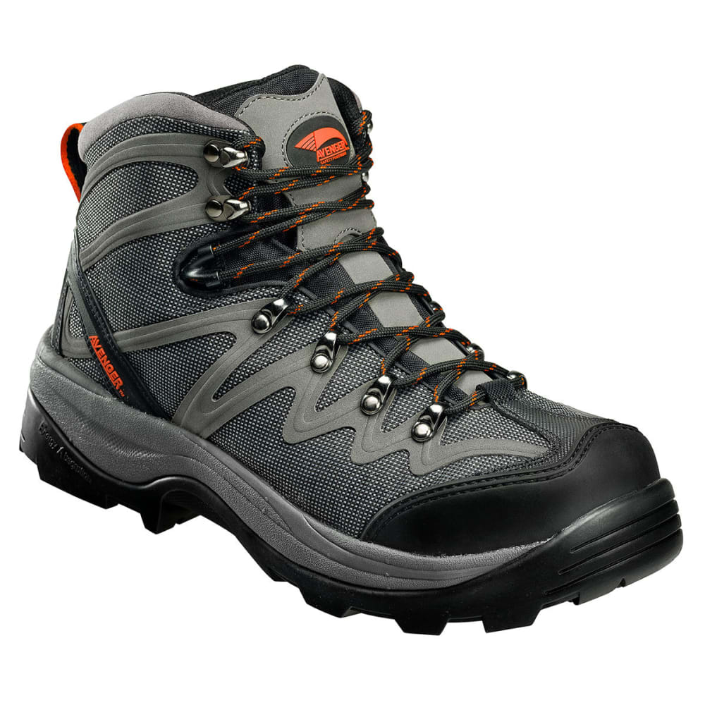 AVENGER Mesh Waterproof Comp Toe EH Work Boot, Medium - GREY