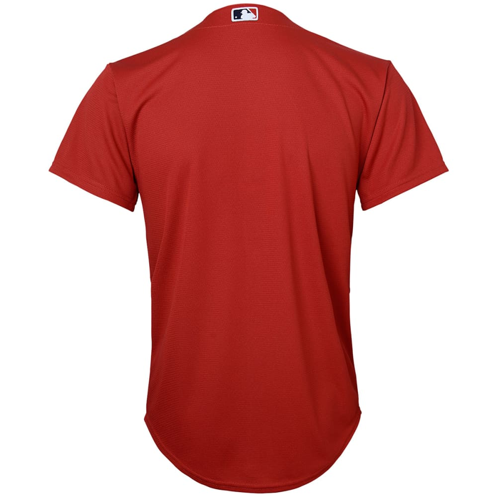 BOSTON RED SOX Boys' Cool Base Alternate Jersey - RED