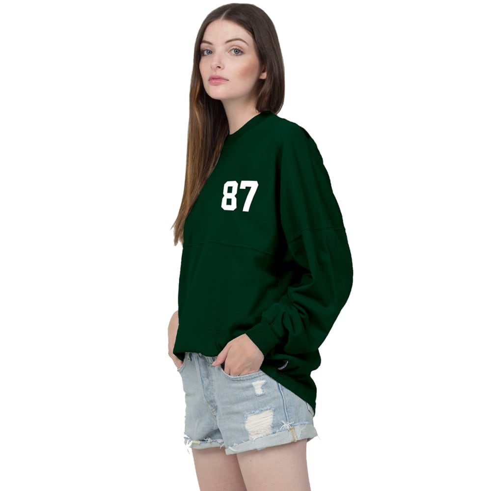 NEW YORK JETS Women's Decker 87 Spirit Jersey - GREEN