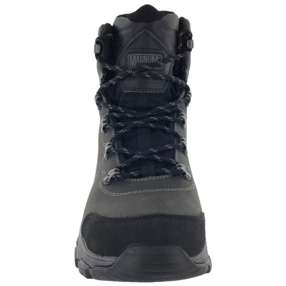 MAGNUM Men's Austin Mid Waterproof Work Boots, Wide - CHARCOAL