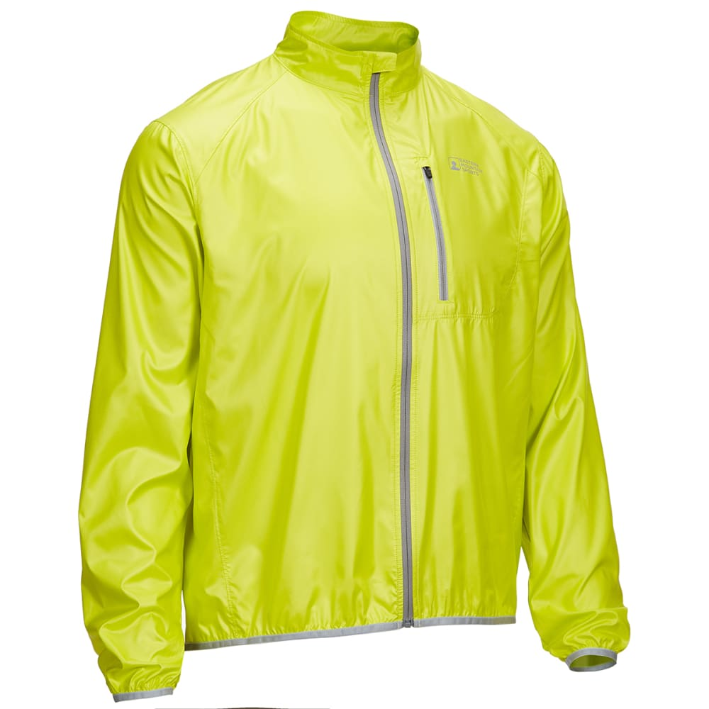 EMS Men's Switchback Cycling Shell Jacket - SULPHUR SPRINGS