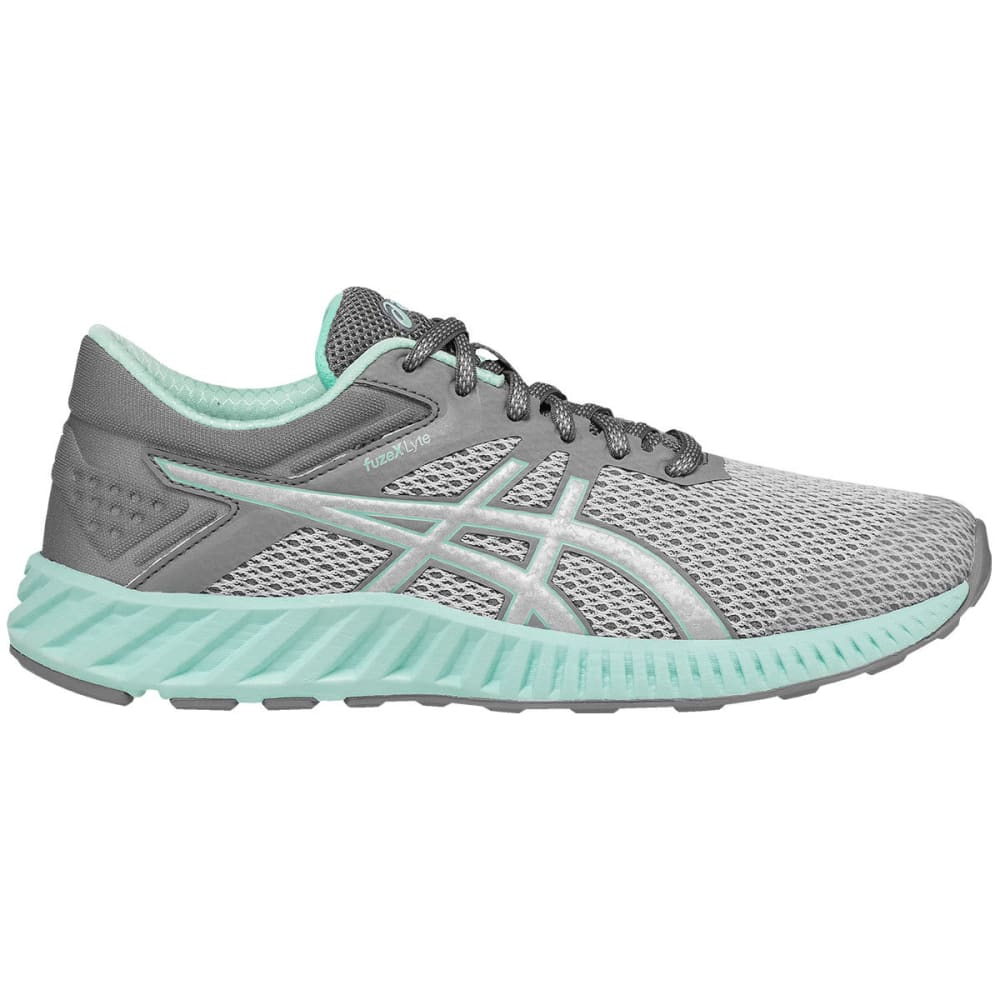 ASICS Women's FuzeX Lyte 2 Running Shoes, Mid Grey - GREY