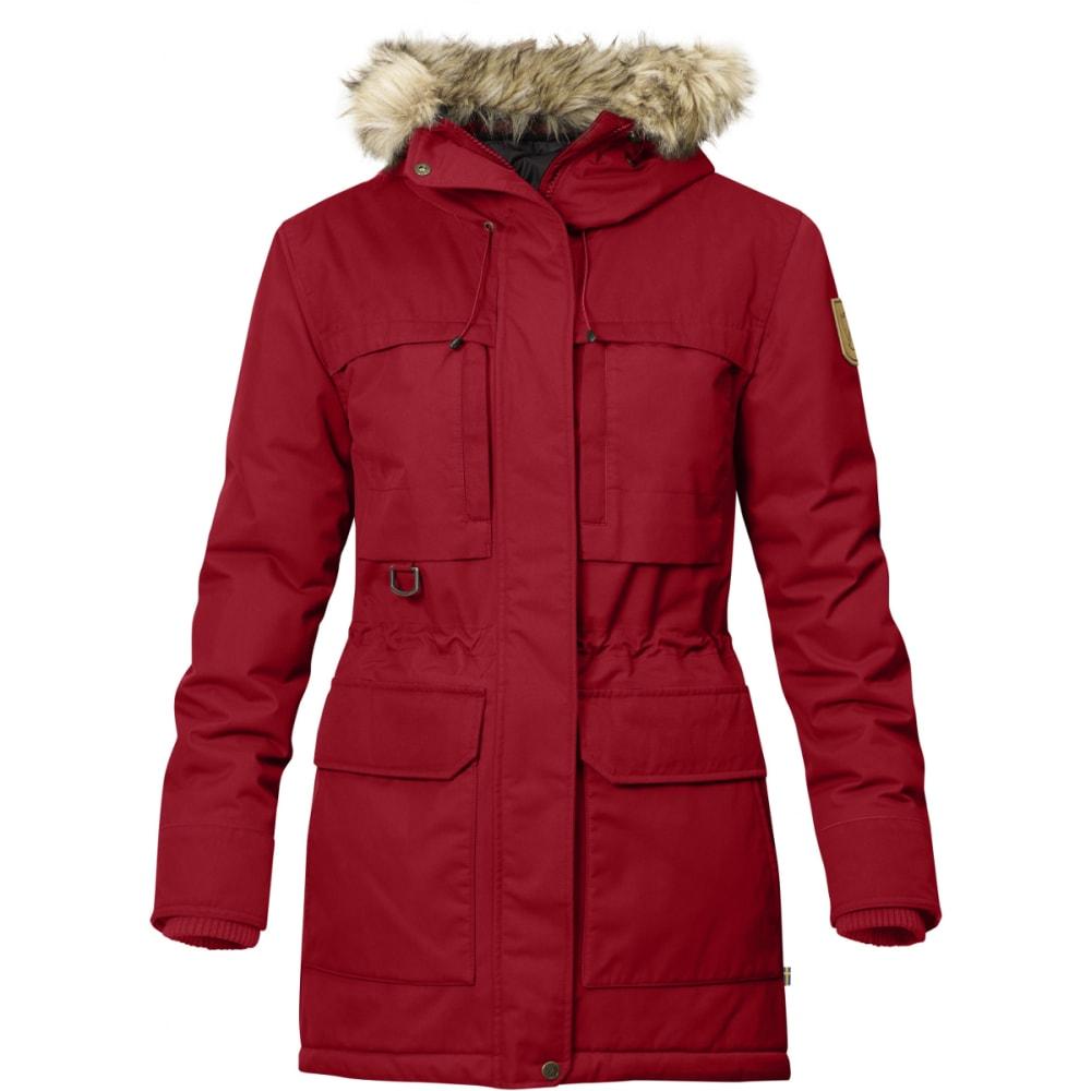 FJALLRAVEN Women's Polar Guide Parka - DEEP RED