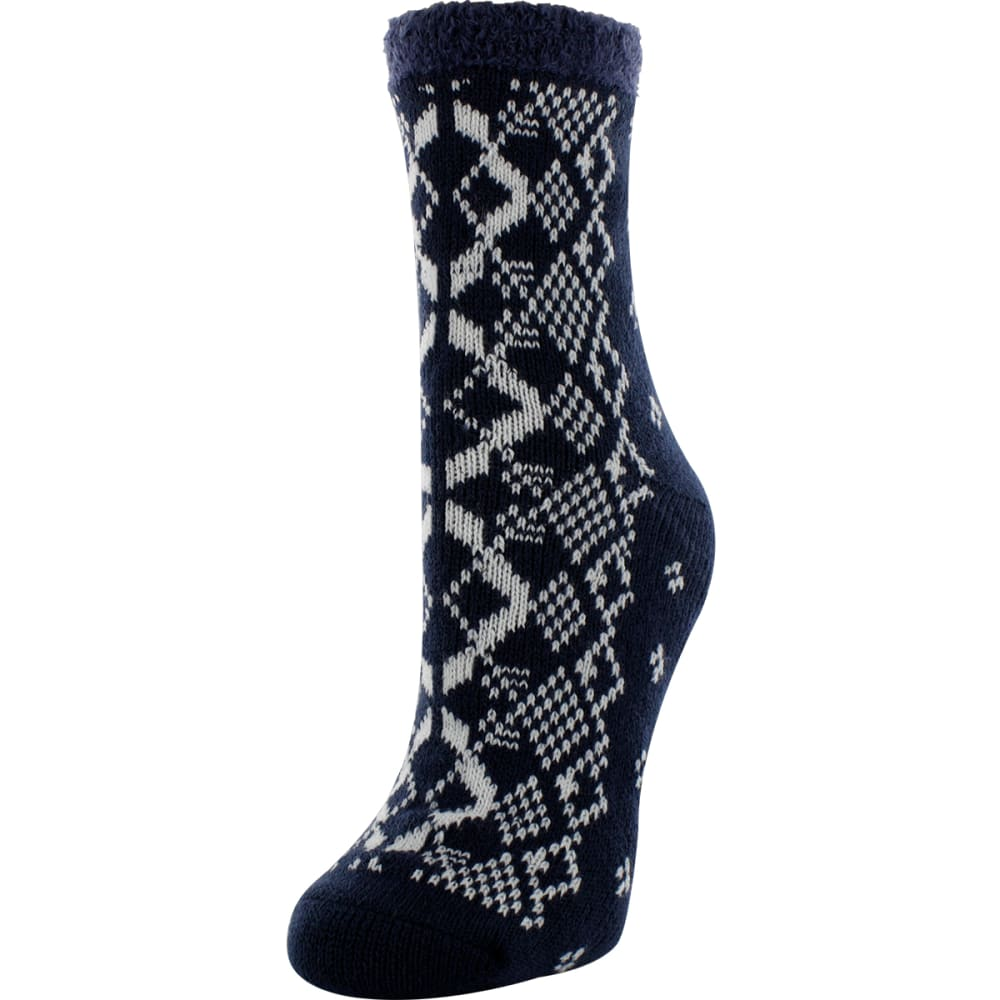 SOF SOLE Women's Fireside Indoor Socks - NAVY