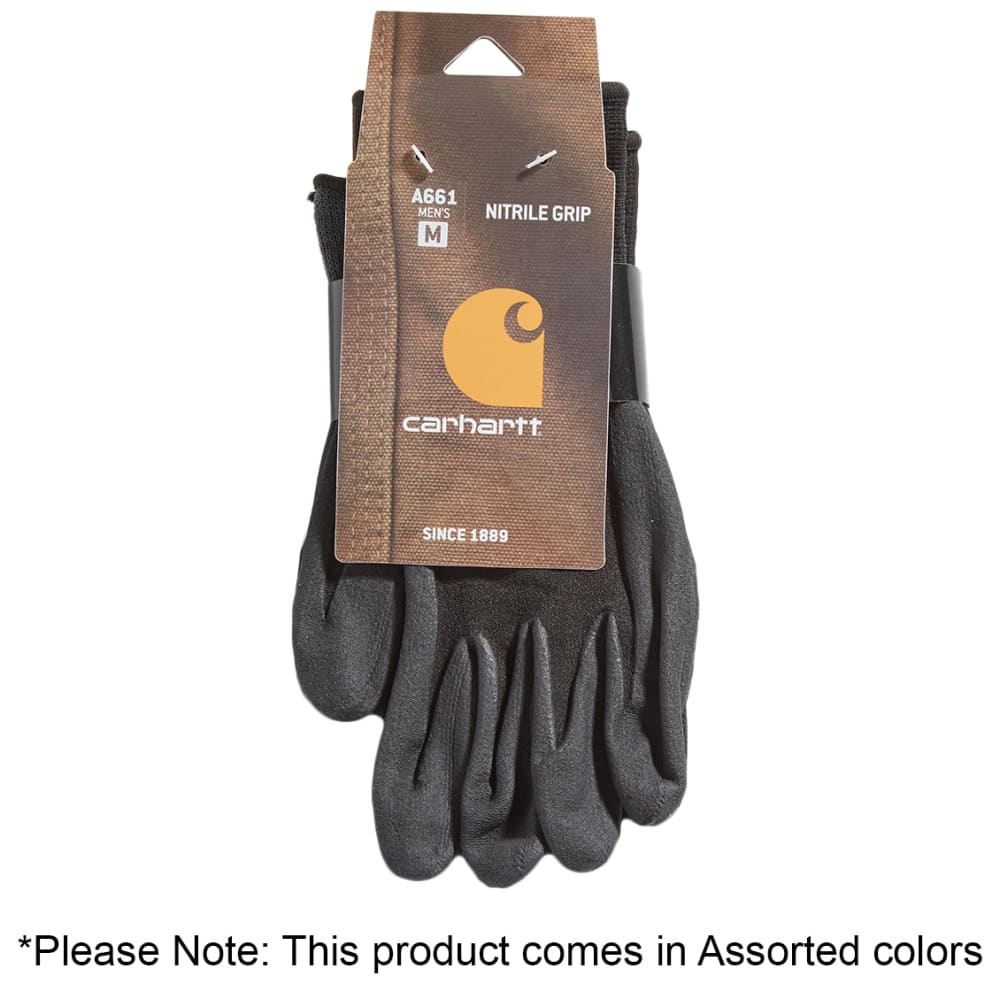 CARHARTT Men's Dipped Gloves, 3 Pack - ASST