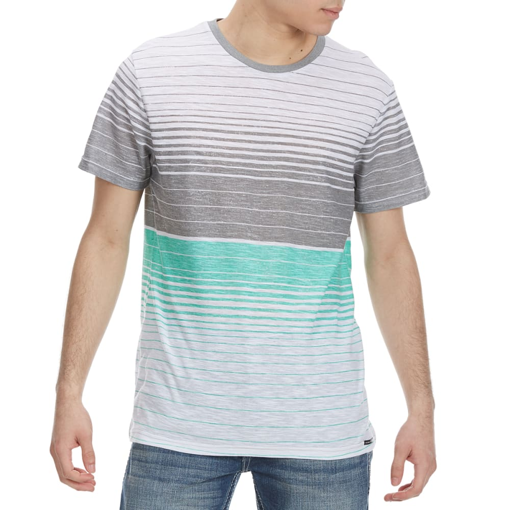 OCEAN CURRENT Guys' Trojan Stripe Knit Short-Sleeve Tee - MINT