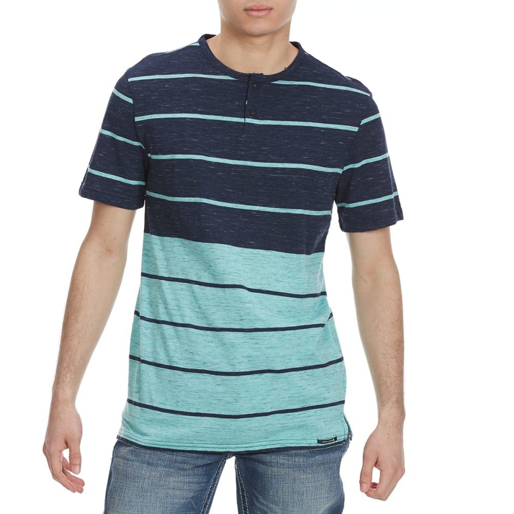OCEAN CURRENT Guys' Gunner Stripe Short-Sleeve Tee S