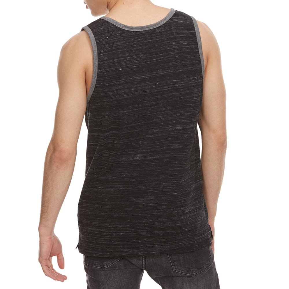 OCEAN CURRENT Guys' Silva Textured Tank Top - BLACK