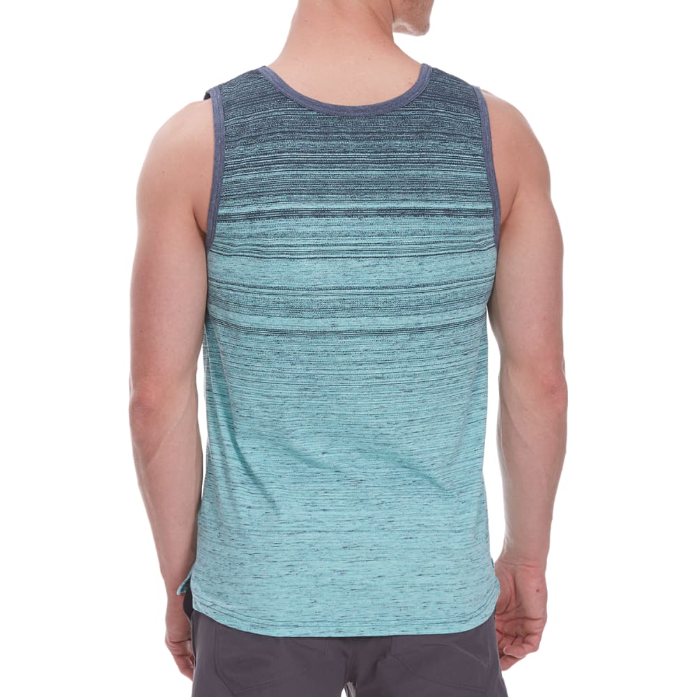OCEAN CURRENT Guys' Andersen Striped Tank Top - FADED MINT