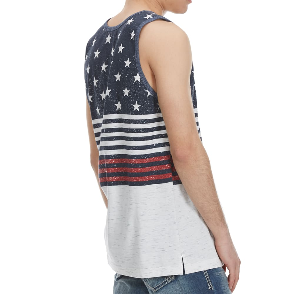 OCEAN CURRENT Guys' Dumbo Stars and Stripes Tank Top - WHITE