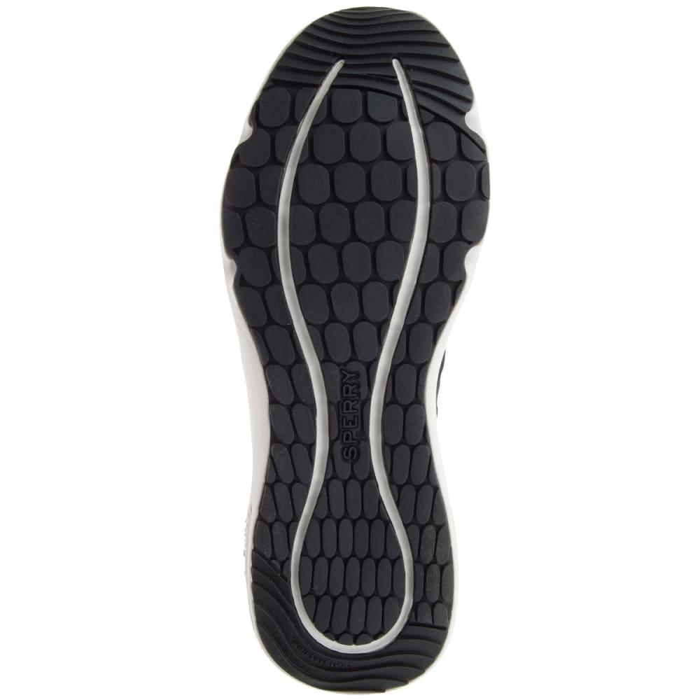 SPERRY Women's 7 Seas Sport Boat Shoes, Black - BLACK