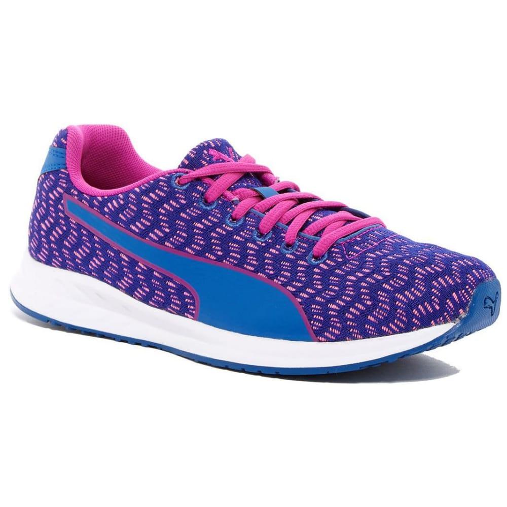 PUMA Women's Burst Multi Running Shoes, True Blue/Ultra Magenta - TRUE BLUE/MAGENTA