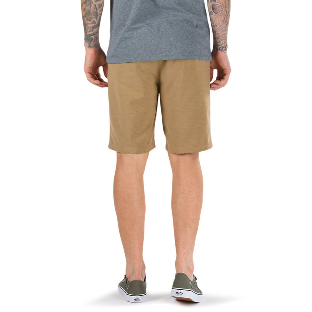 VANS Guys' 20 in. Gaviota Heather Decksider Shorts - DIRT