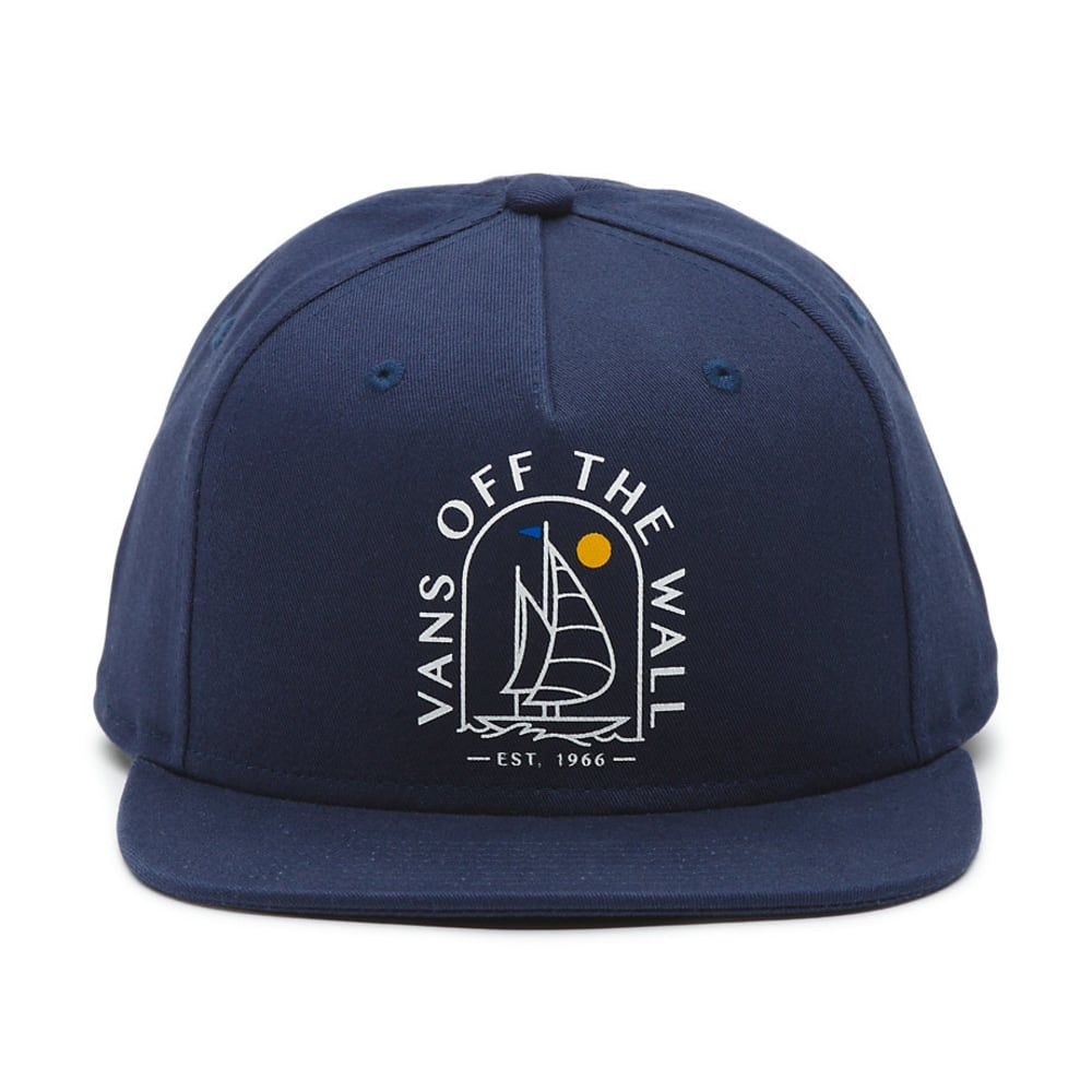 VANS Guys' Sea Cruise Snapback Hat - DRESS BLUE