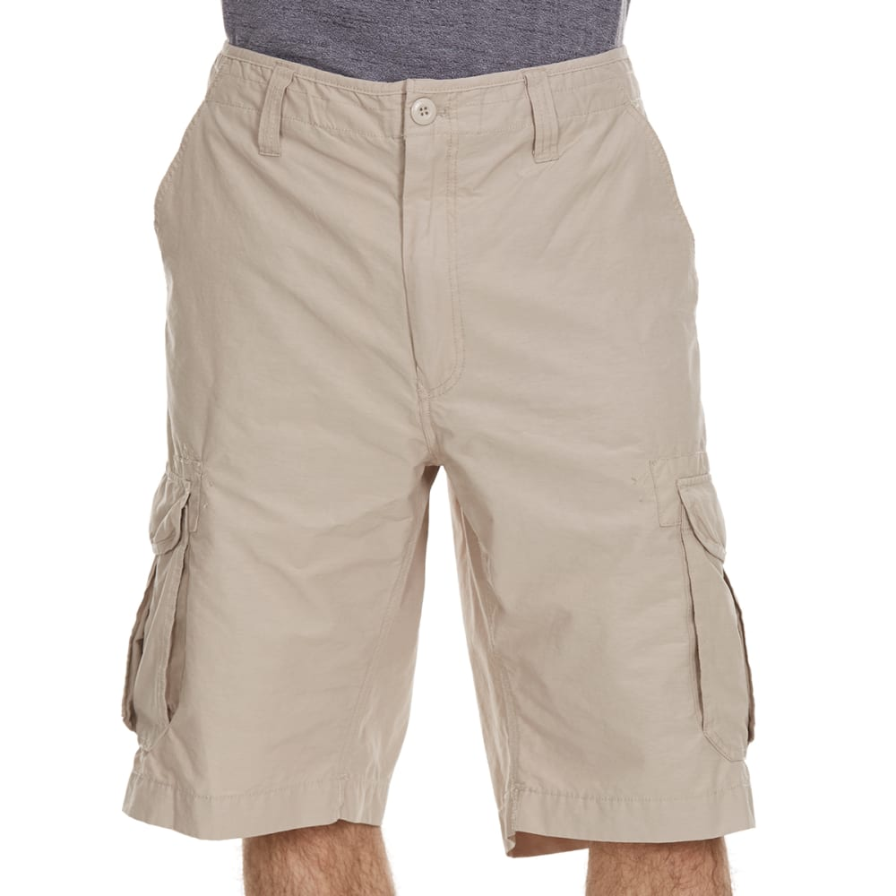 OCEAN CURRENT Guys' Sandstorm Peached Cargo Shorts - THE STONE