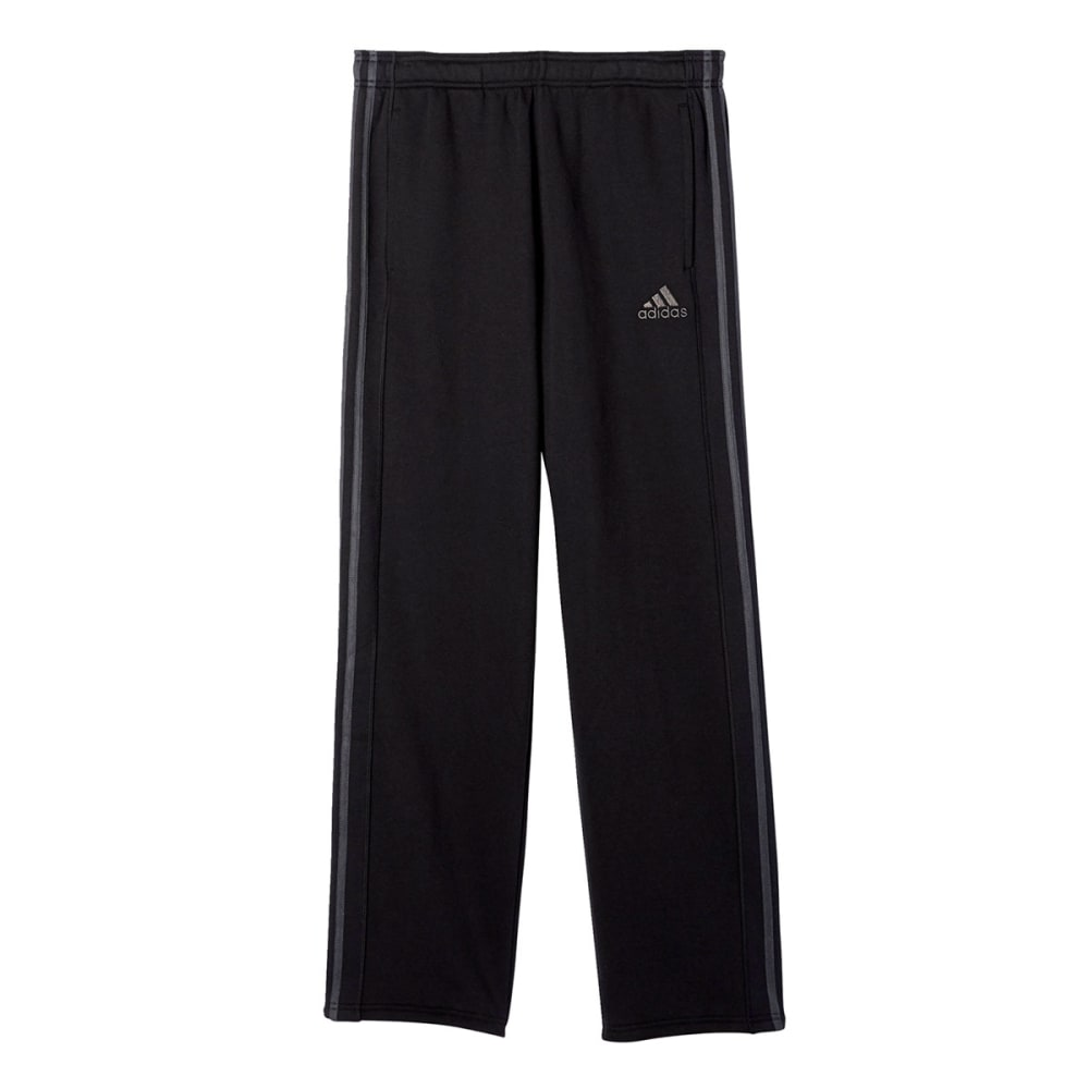 Adidas Men's Essential Cotton Fleece Pants - Black, L