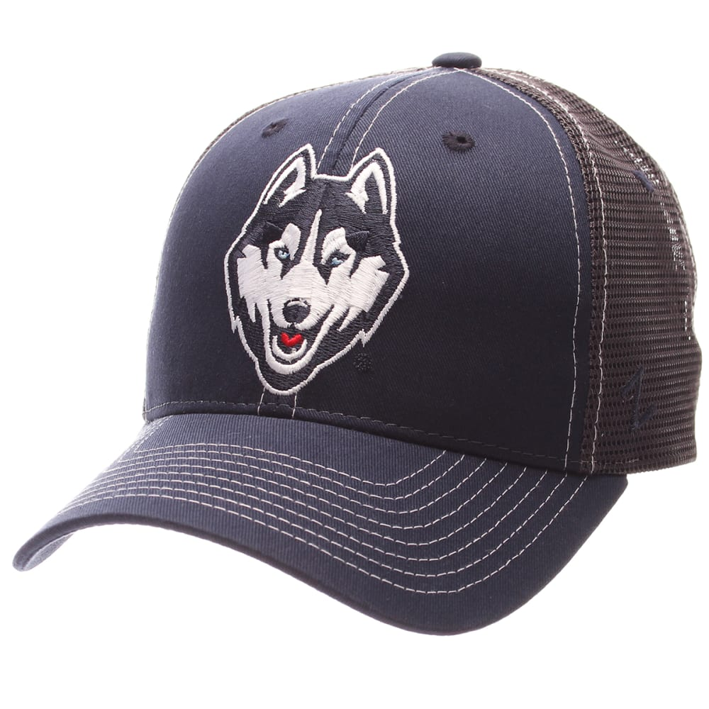 UCONN Men's Adjustable Trucker Hat - BLUE