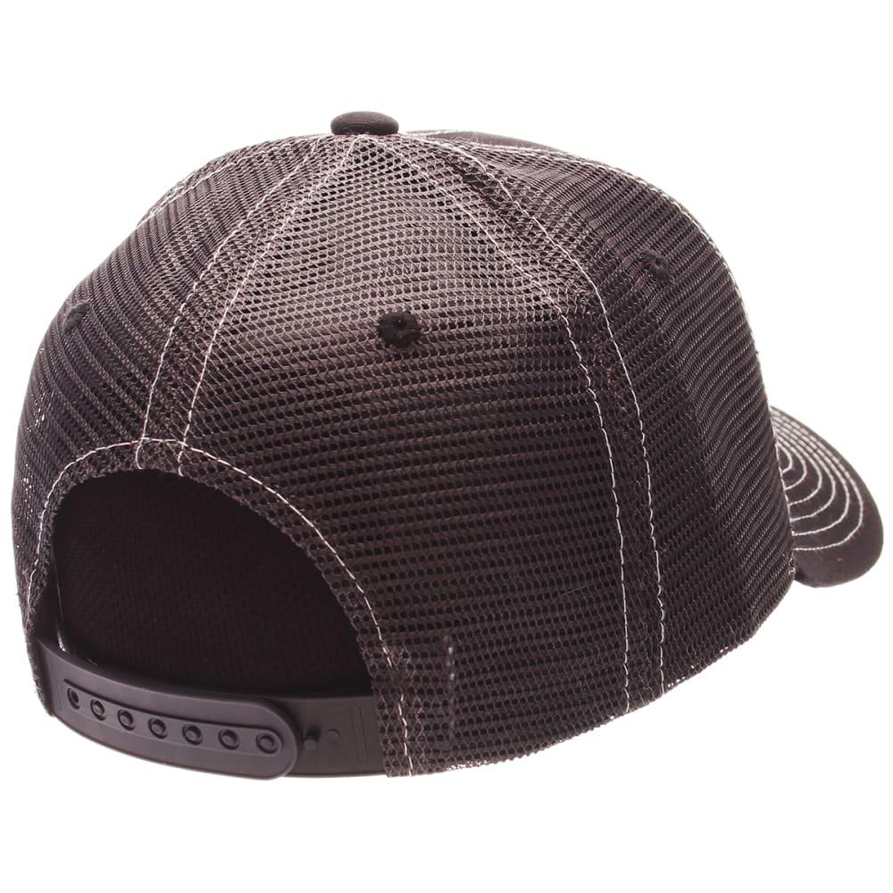 BOSTON BRUINS Men's Adjustable Trucker Hat - BLACK