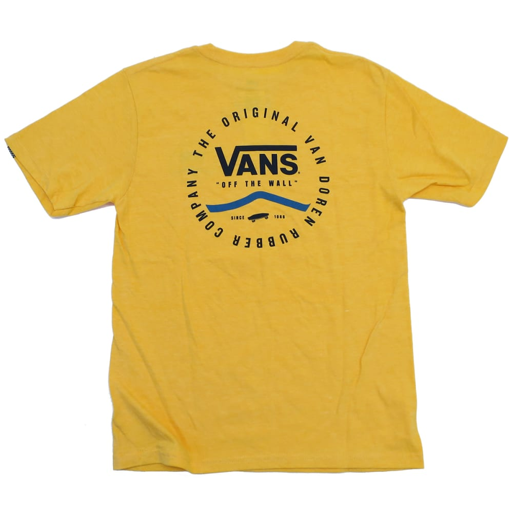 VANS Boys' Original Rubber Co. - GOLDEN HTR