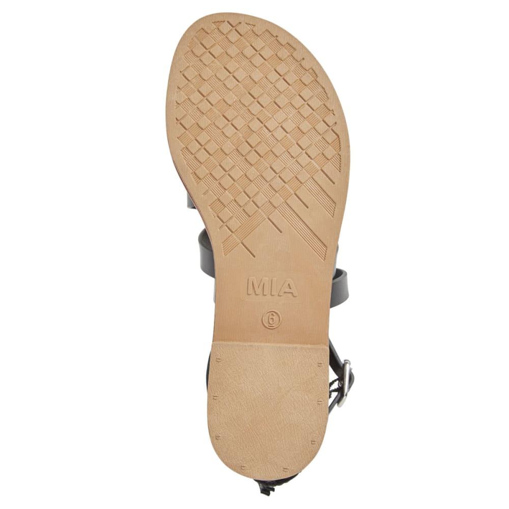 MIA Women's Denise Gladiator Sandals, Black - BLACK