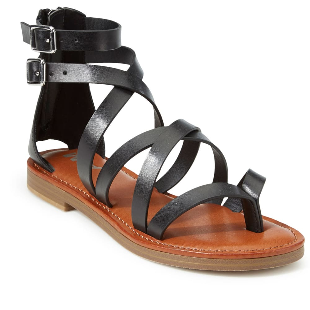 MIA Women's Denise Gladiator Sandals, Black - BLACK