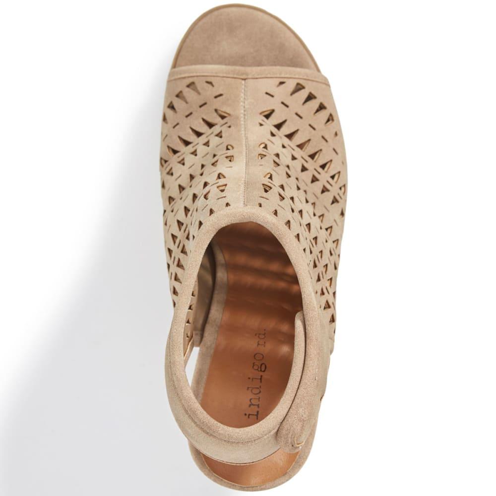 INDIGO RD Women's Pedana Heeled Sandals, Taupe - TAUPE