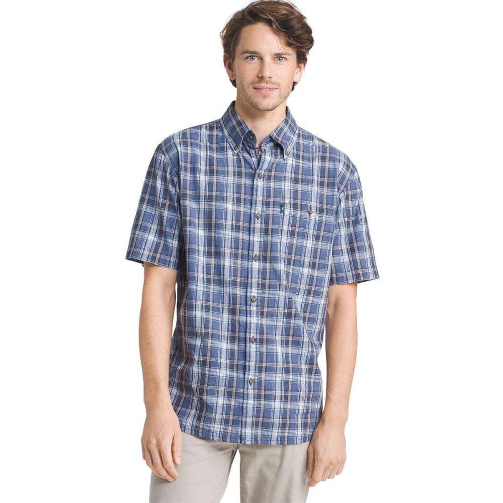 G.H. BASS & CO. Men's Madawaska Short-Sleeve Trail Shirt - VINTAGE INDIGO - 429