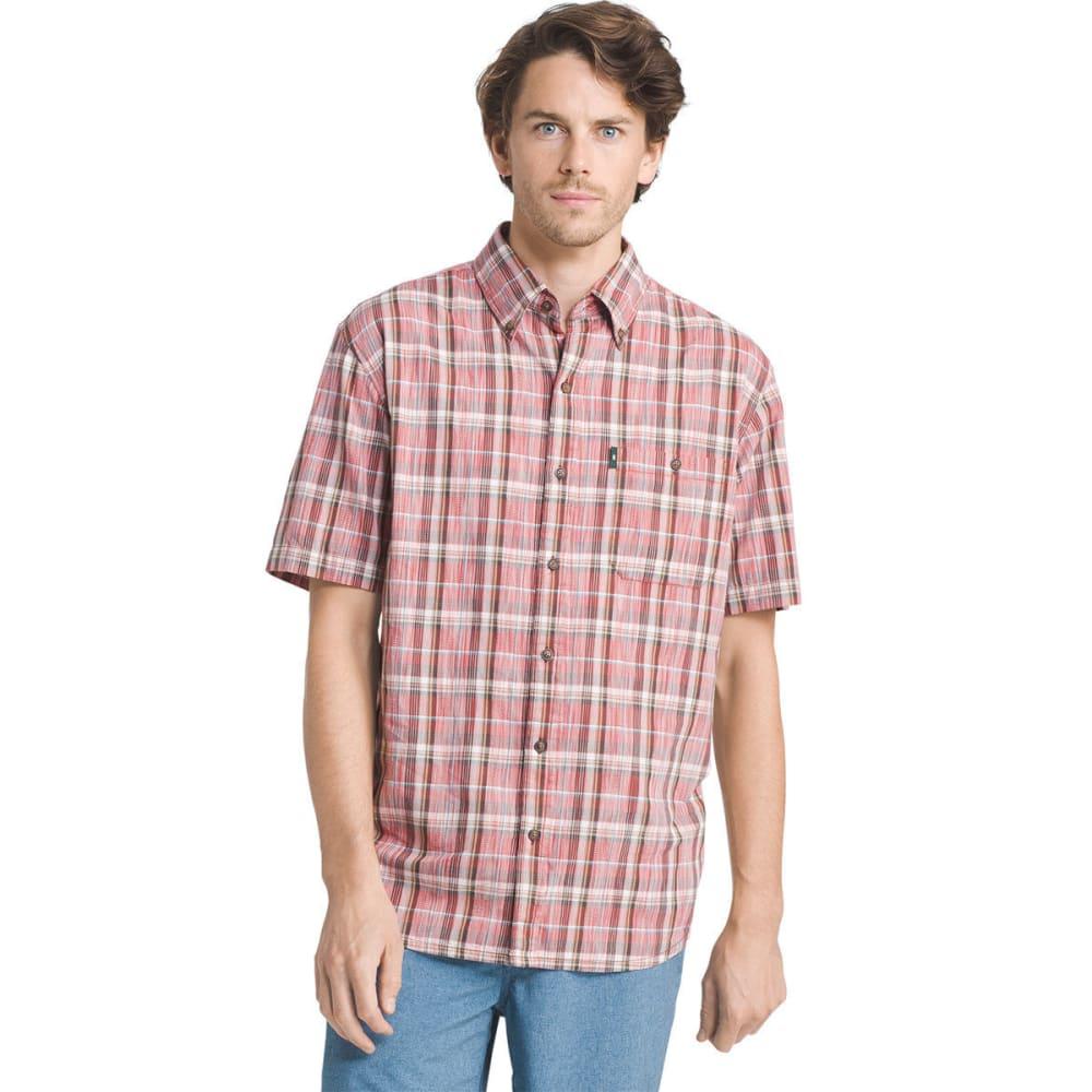 G.H. BASS & CO. Men's Madawaska Short-Sleeve Trail Shirt - TANDORI SPICE - 640