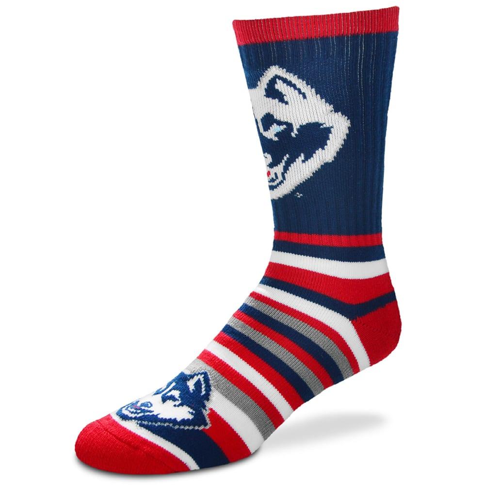 UCONN Lotta Stripe Socks - NAVY