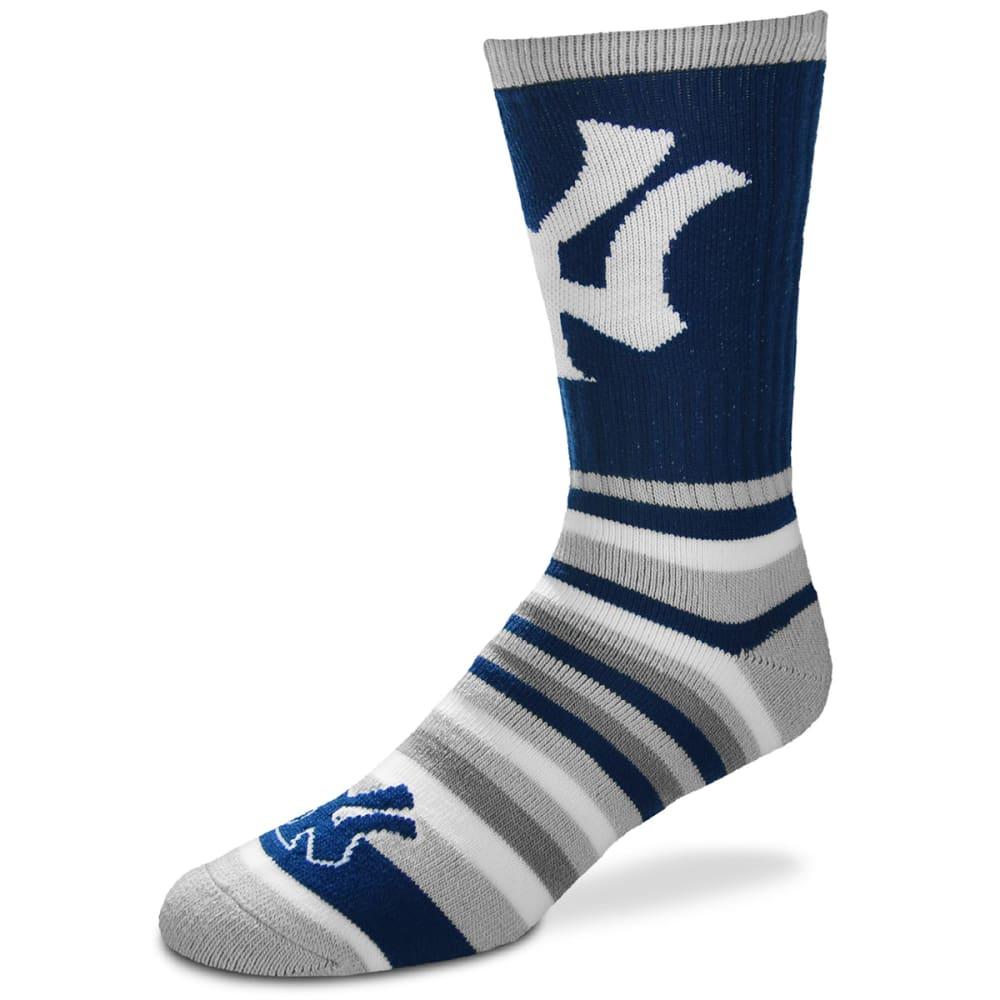 NEW YORK YANKEES Lotta Stripe Socks - ROYAL BLUE