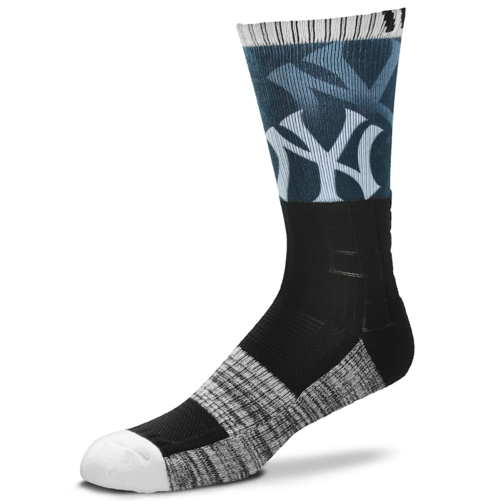 NEW YORK YANKEES Blackout Socks - BLACK