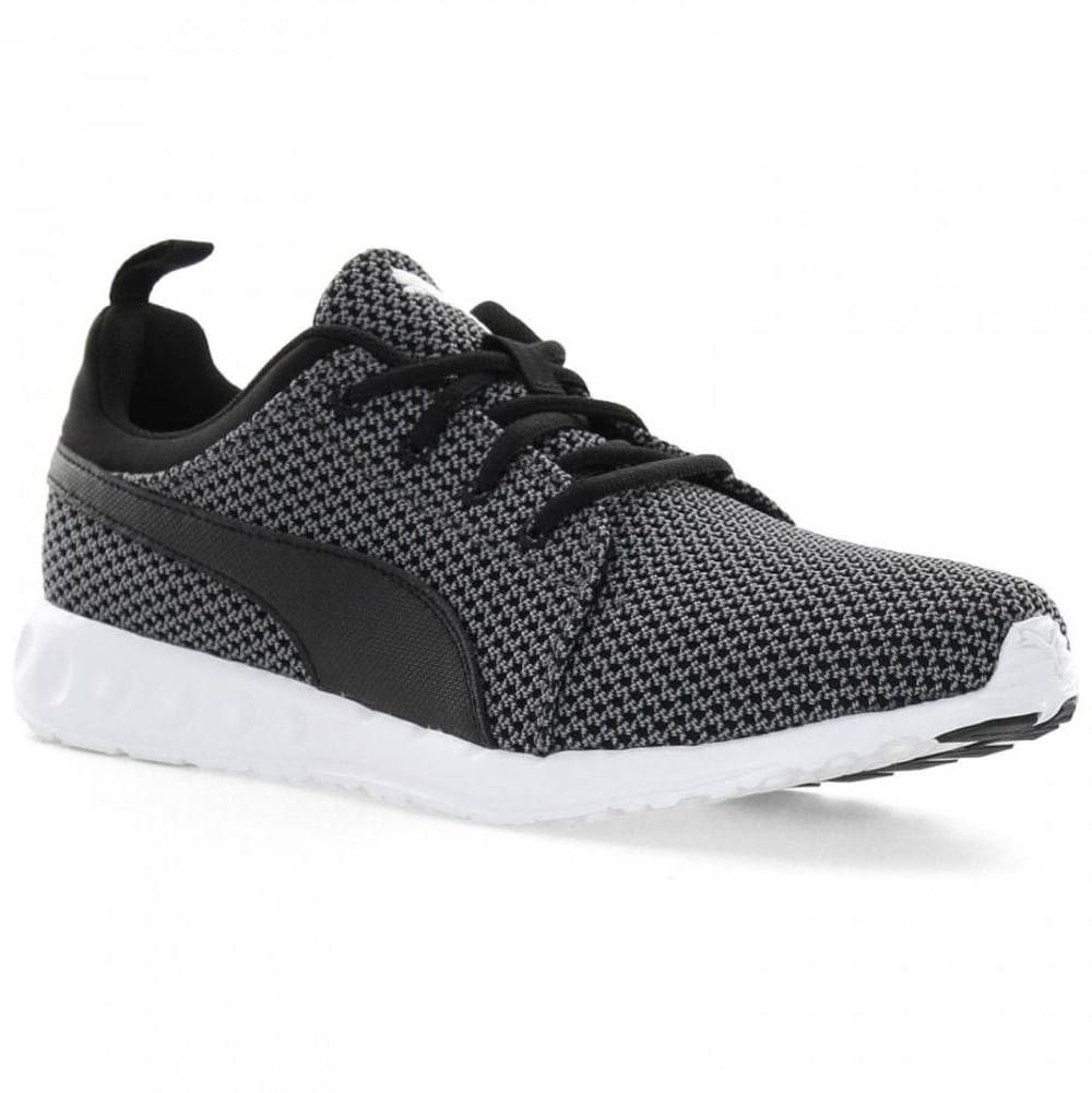PUMA Men's Carson Knitted Sneakers - BLACK
