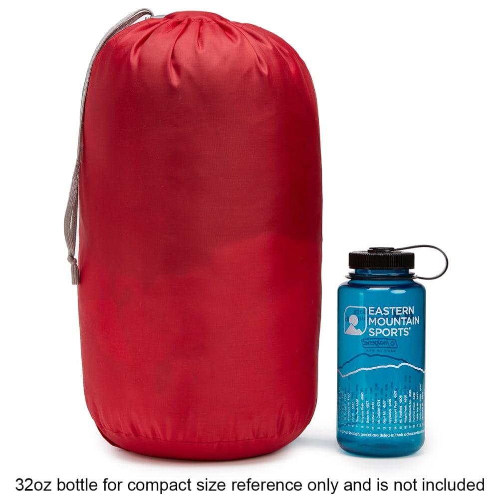 EMS Solstice 20° Sleeping Bag, Long - CHILI PEPPER/PEWTER