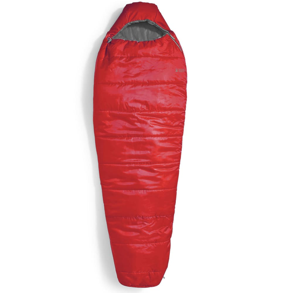 EMS Solstice 20° Sleeping Bag, Long - CHILI PEPPER/PEWTER