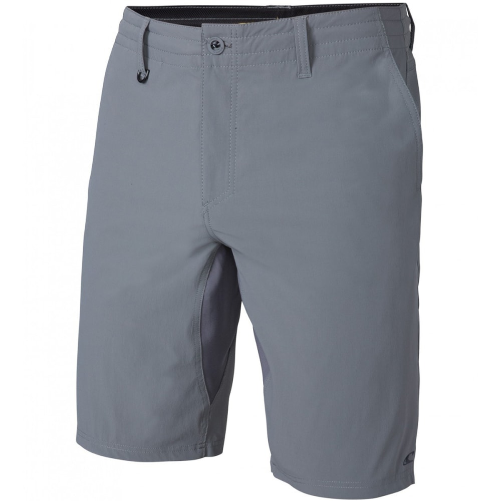 O'NEILL Men's Traveler Utility Hybrid Shorts - GRY-GREY
