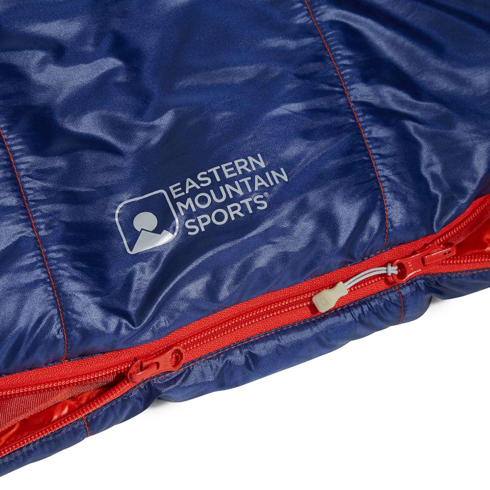 EMS Velocity 35 Degree Mummy Sleeping Bag, Long - SURF WEB/BLUE DEPTHS