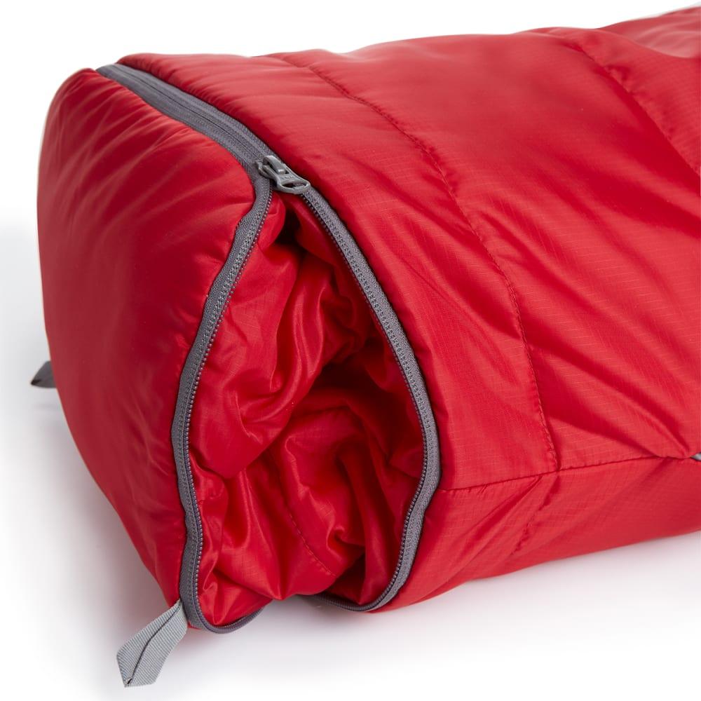 EMS Junior Solstice 20° Sleeping Bag - CHILI PEPPER/PEWTER