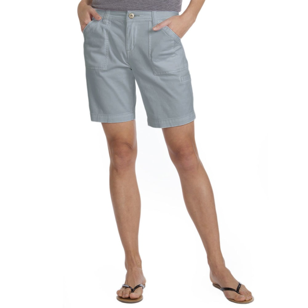 SUPPLIES BY UNIONBAY Women's 9 in. Francine Bermuda Shorts - 022J-EDGE GREY