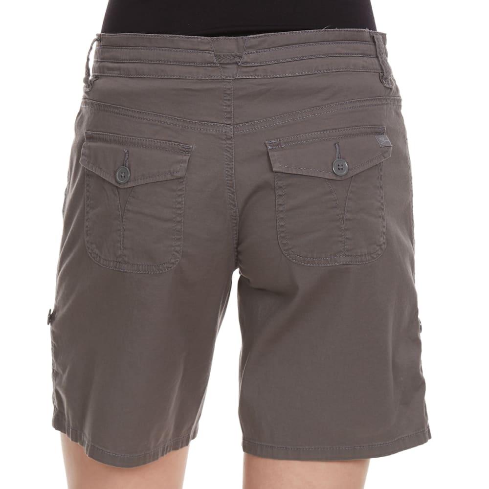 SUPPLIES BY UNIONBAY Women's Gwyneth Convertible Shorts - 056J-LT GALAXY GREY