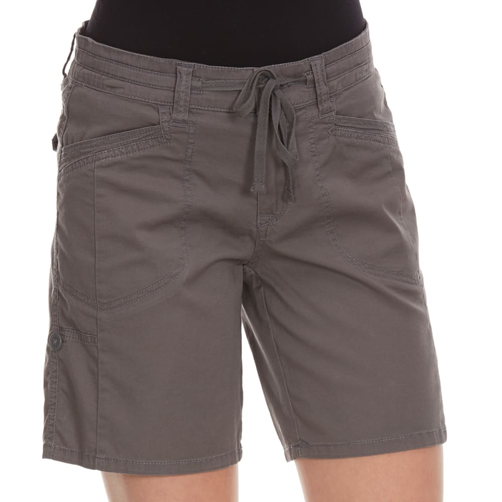 SUPPLIES BY UNIONBAY Women's Gwyneth Convertible Shorts - 056J-LT GALAXY GREY