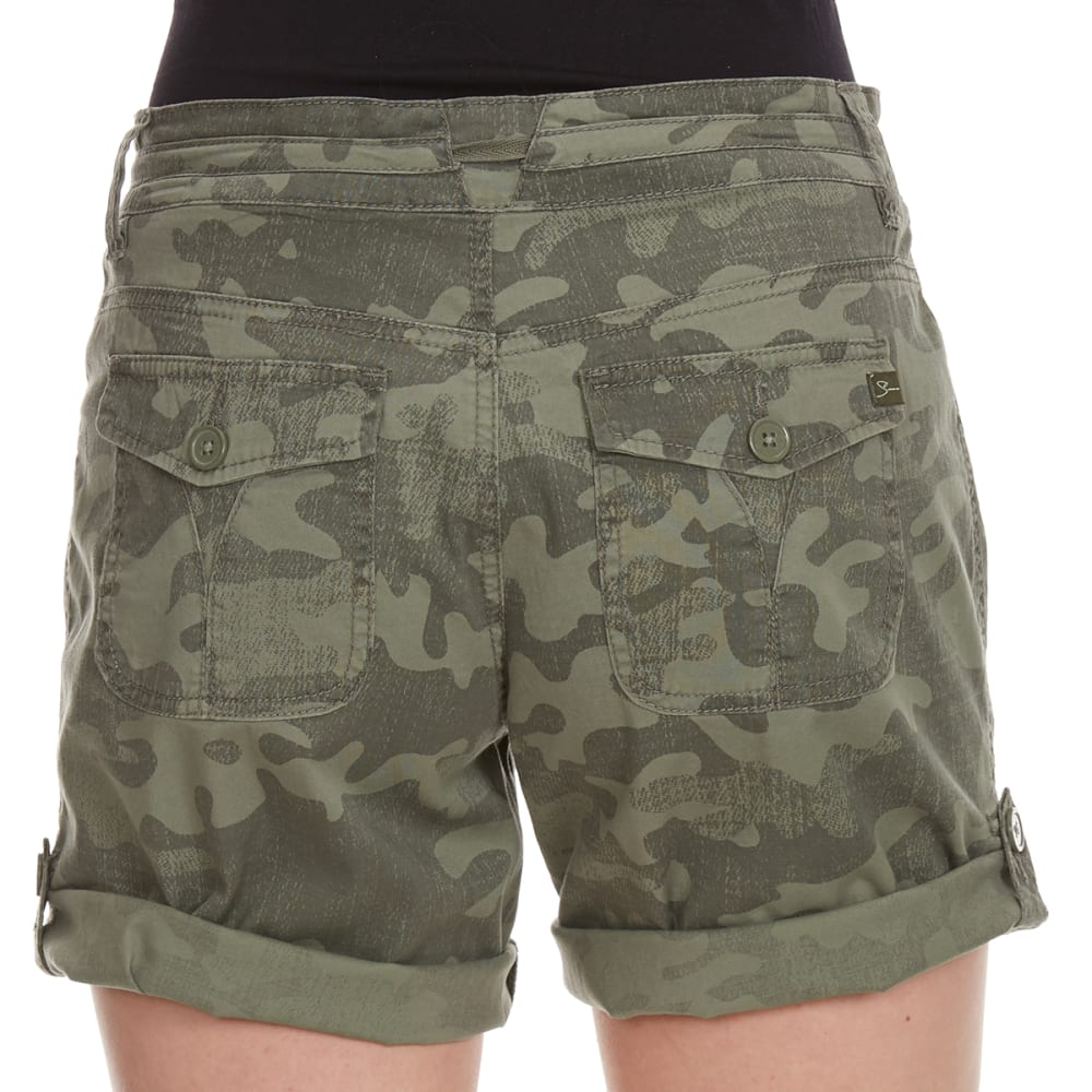 SUPPLIES BY UNIONBAY Women's Gwyneth Convertible Camo Shorts - 353J-LAUREL GRN CAMO