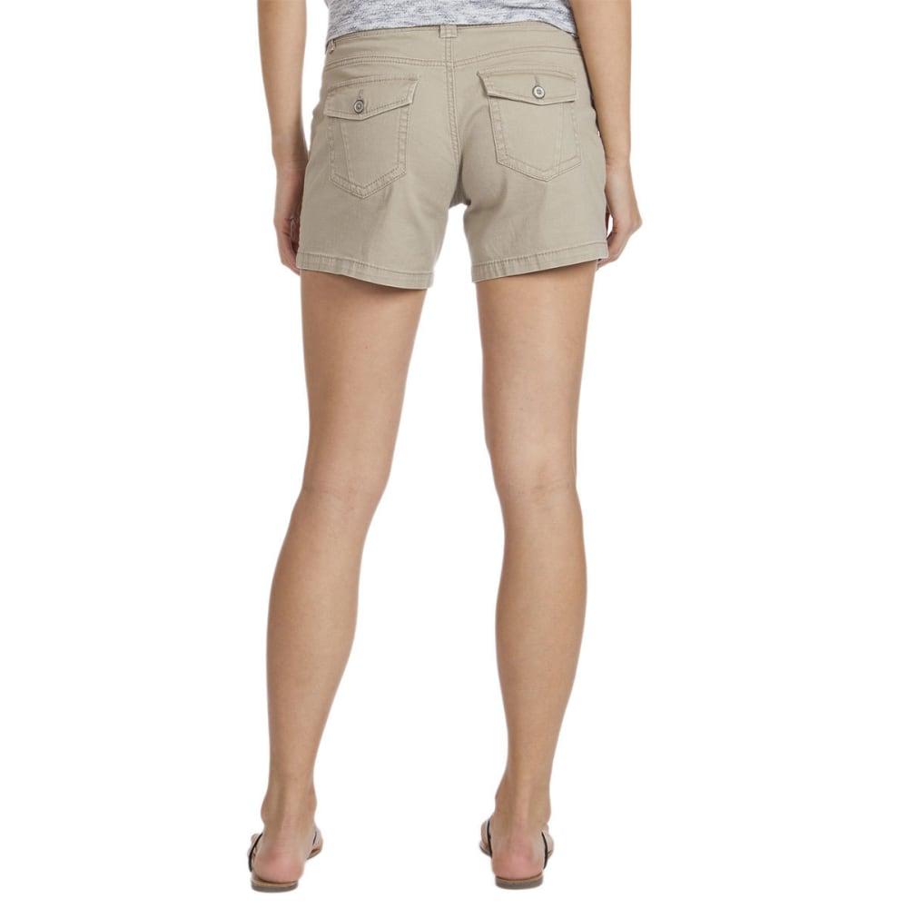 UNIONBAY Women's Alex Twill Shorts, 5 IN. - 258J-TAUPE